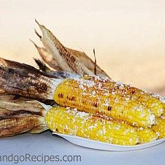 Mexican Grilled Corn-Elote Recipe