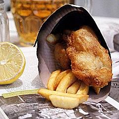 Fish and chips wg Blumenthala