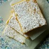 Lemon-coconut bars