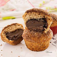 Chocolate filled Muffins