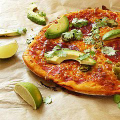 Hot latino pizza