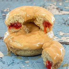 Peanut-Butter & Jelly Donuts